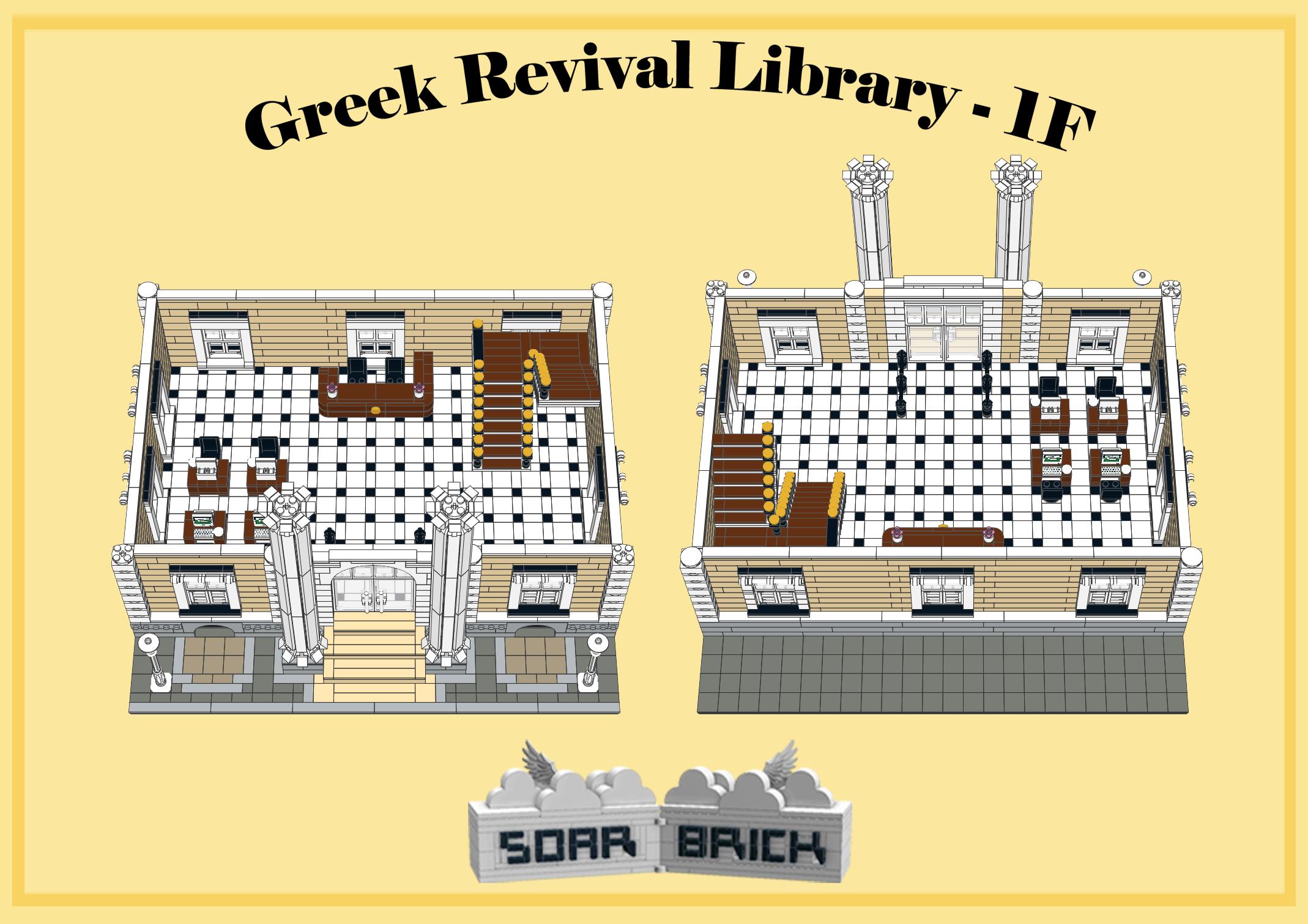 greek revival library bookshelves and enchantment tables Coffee Table Bookshelf